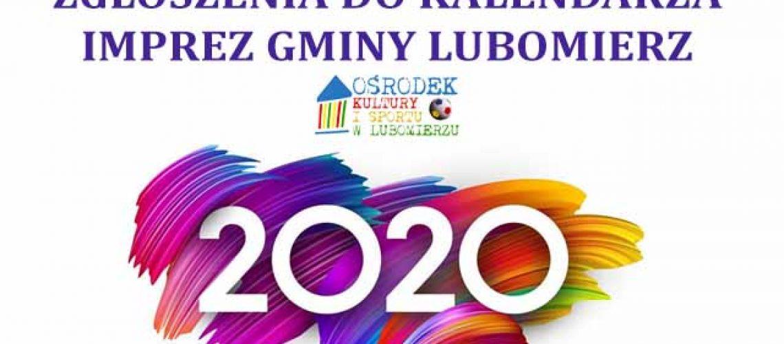 miniatura kalendarz imprez na 2020